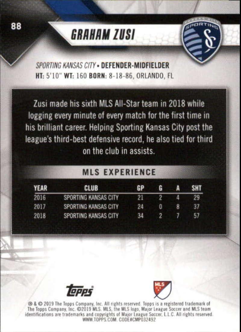 2019-Topps-MLS-Soccer-Base-Singles-1-200-Pick-Your-Cards thumbnail 169