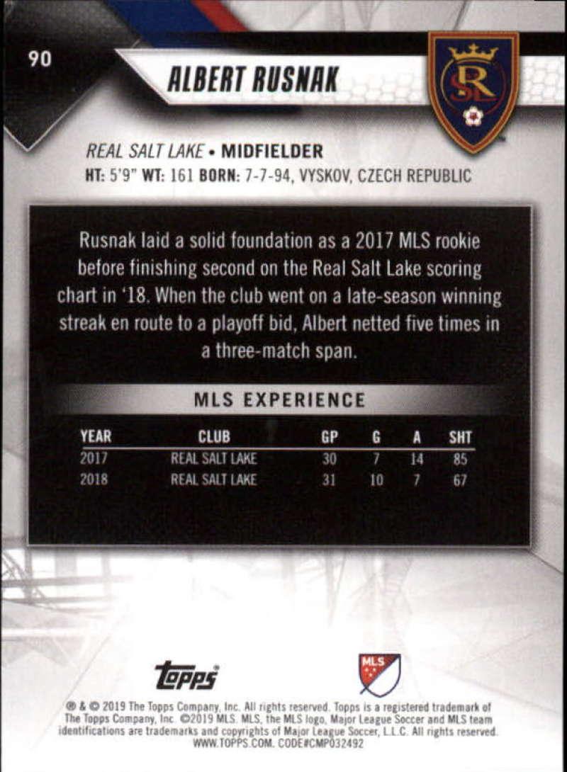 2019-Topps-MLS-Soccer-Base-Singles-1-200-Pick-Your-Cards thumbnail 173