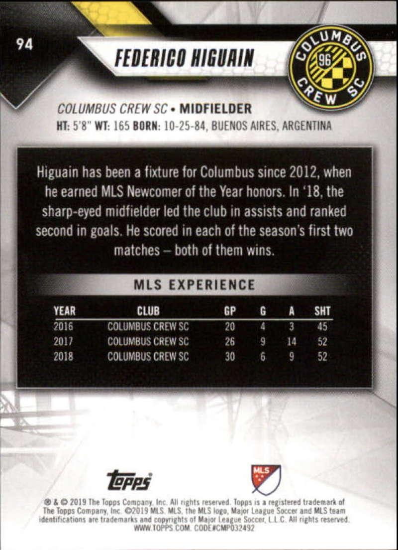 2019-Topps-MLS-Soccer-Base-Singles-1-200-Pick-Your-Cards thumbnail 179