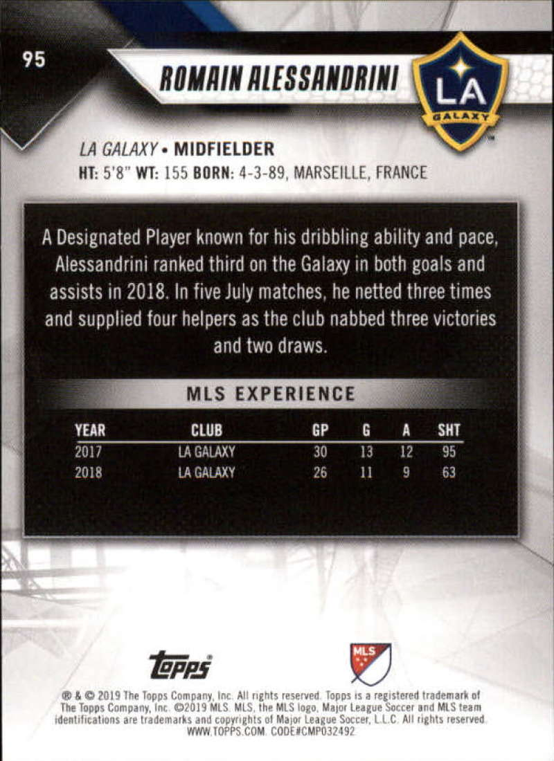 2019-Topps-MLS-Soccer-Base-Singles-1-200-Pick-Your-Cards thumbnail 179