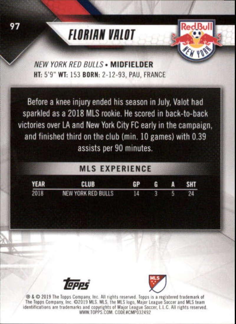 2019-Topps-MLS-Soccer-Base-Singles-1-200-Pick-Your-Cards thumbnail 185