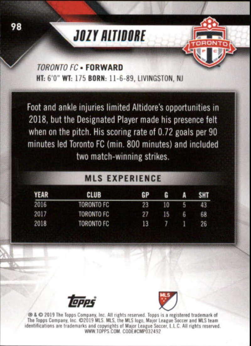 2019-Topps-MLS-Soccer-Base-Singles-1-200-Pick-Your-Cards thumbnail 187