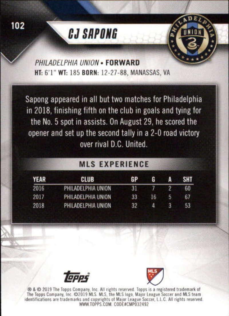 2019-Topps-MLS-Soccer-Base-Singles-1-200-Pick-Your-Cards thumbnail 195