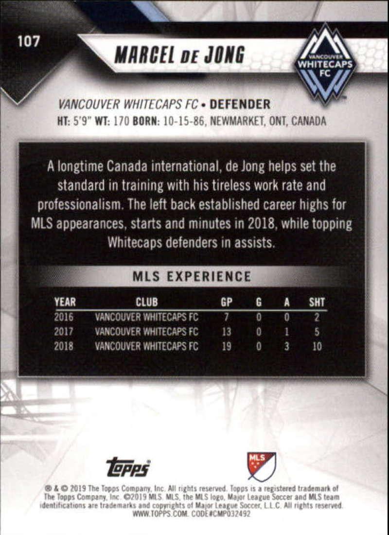 2019-Topps-MLS-Soccer-Base-Singles-1-200-Pick-Your-Cards thumbnail 205