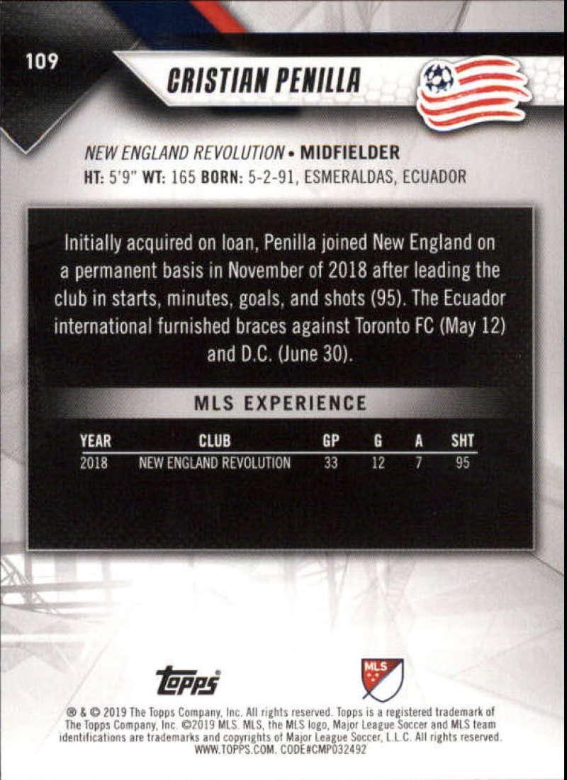 2019-Topps-MLS-Soccer-Base-Singles-1-200-Pick-Your-Cards thumbnail 209