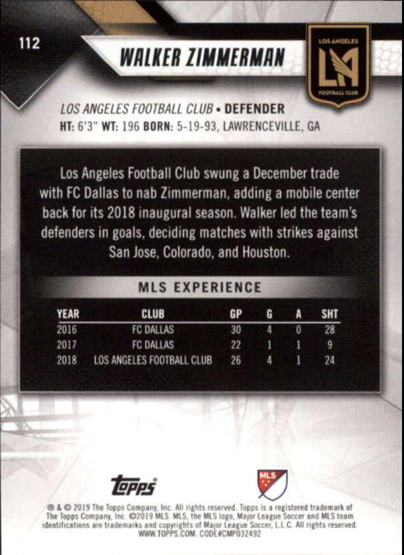 2019-Topps-MLS-Soccer-Base-Singles-1-200-Pick-Your-Cards thumbnail 215