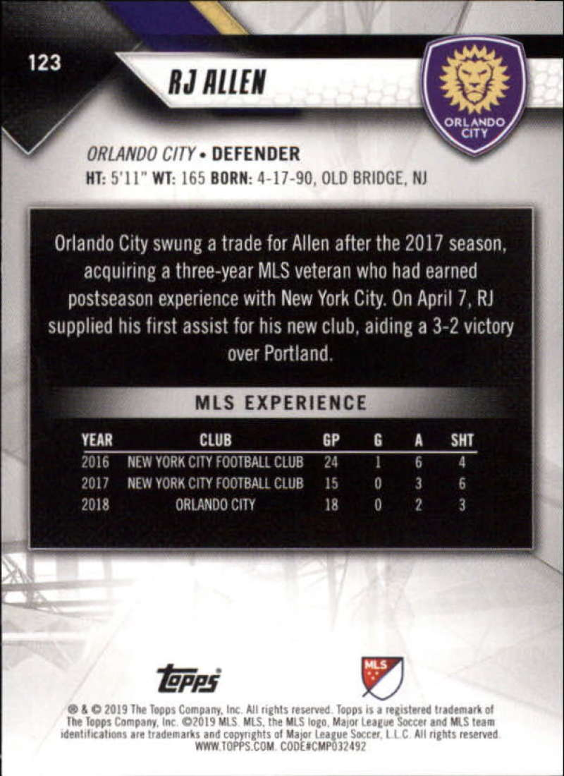2019-Topps-MLS-Soccer-Base-Singles-1-200-Pick-Your-Cards thumbnail 233