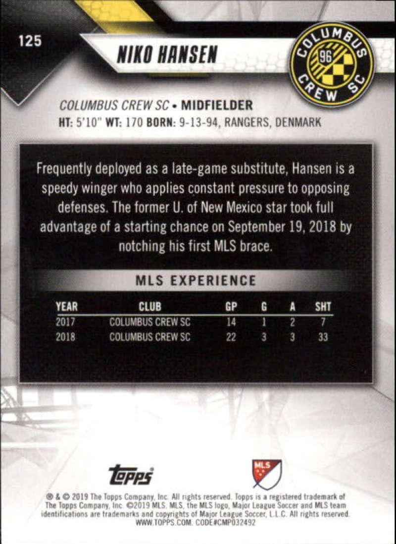 2019-Topps-MLS-Soccer-Base-Singles-1-200-Pick-Your-Cards thumbnail 239