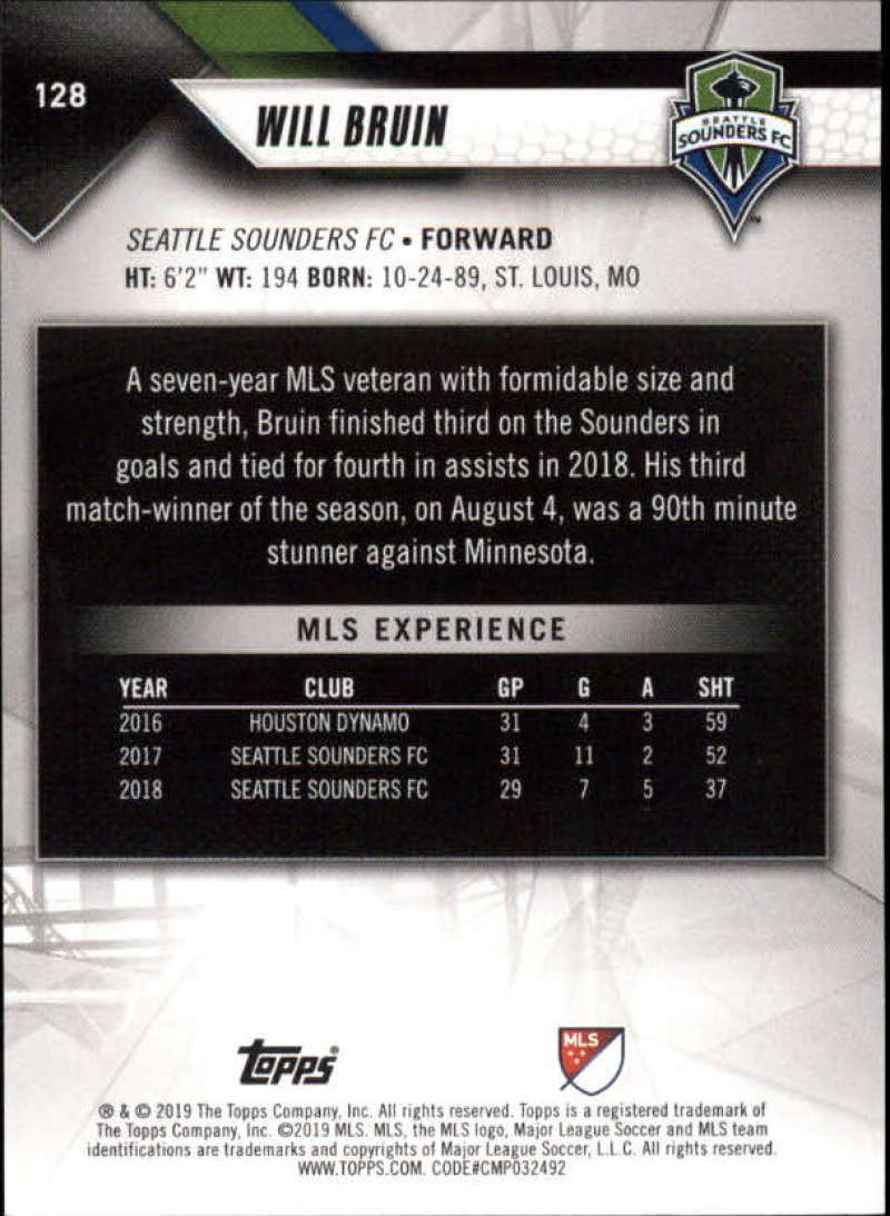 2019-Topps-MLS-Soccer-Base-Singles-1-200-Pick-Your-Cards thumbnail 243