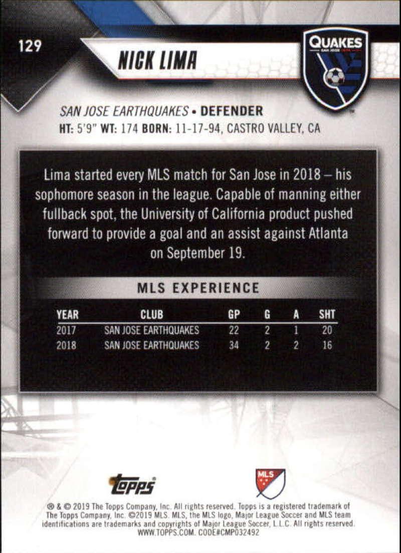 2019-Topps-MLS-Soccer-Base-Singles-1-200-Pick-Your-Cards thumbnail 247