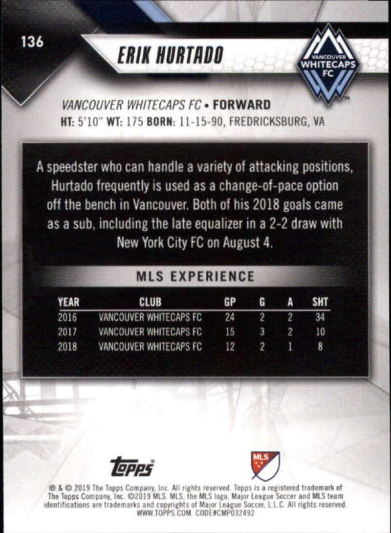 2019-Topps-MLS-Soccer-Base-Singles-1-200-Pick-Your-Cards thumbnail 261