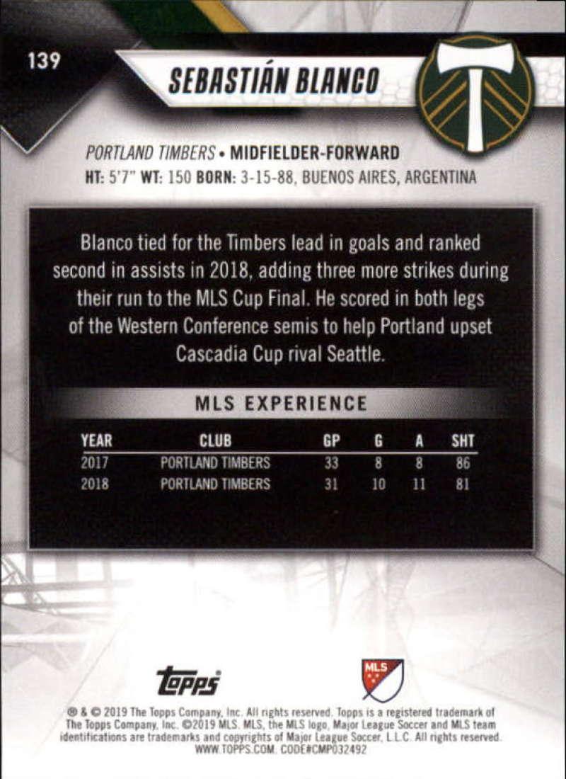 2019-Topps-MLS-Soccer-Base-Singles-1-200-Pick-Your-Cards thumbnail 267