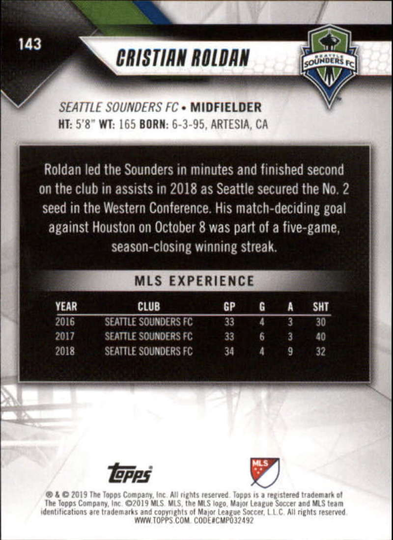 2019-Topps-MLS-Soccer-Base-Singles-1-200-Pick-Your-Cards thumbnail 271