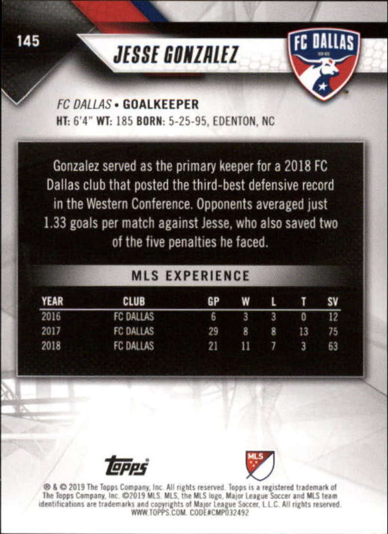 2019-Topps-MLS-Soccer-Base-Singles-1-200-Pick-Your-Cards thumbnail 275
