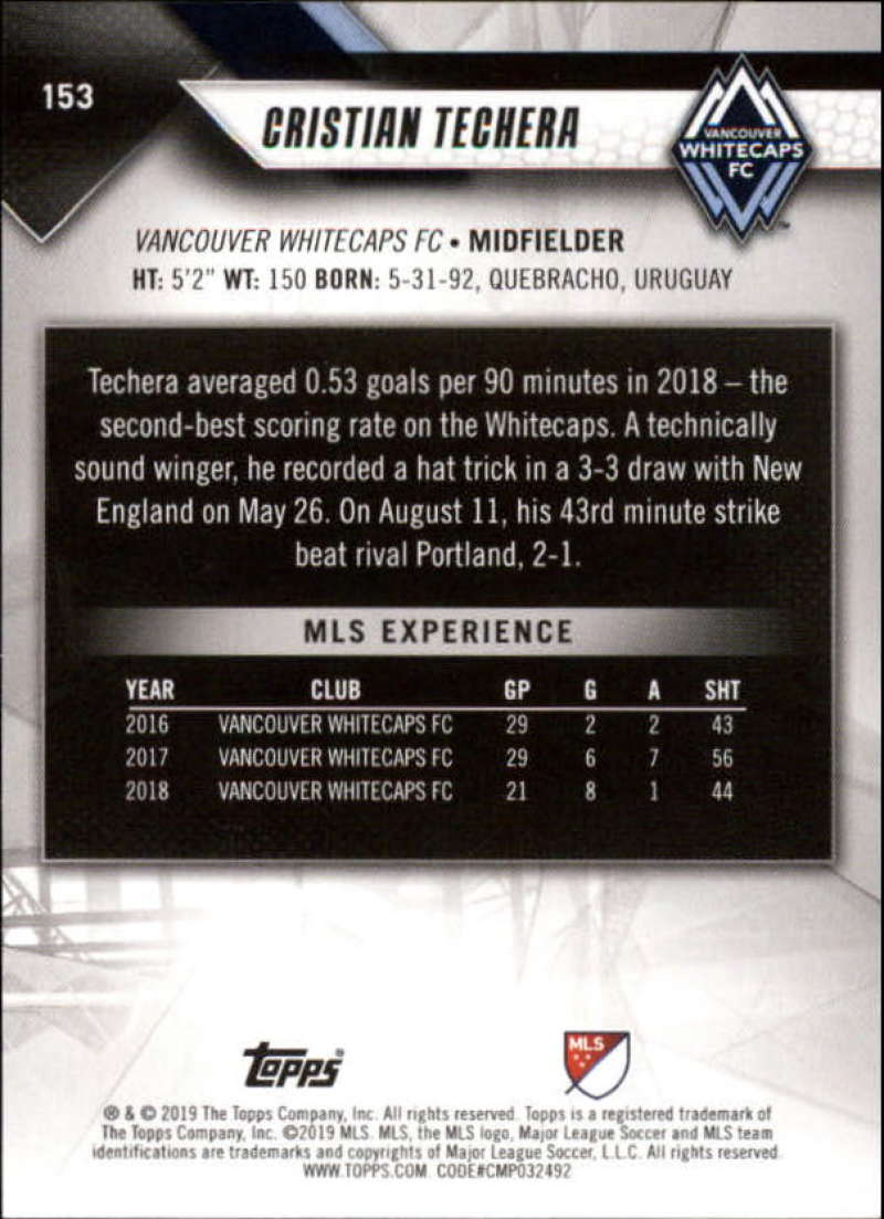 2019-Topps-MLS-Soccer-Base-Singles-1-200-Pick-Your-Cards thumbnail 289