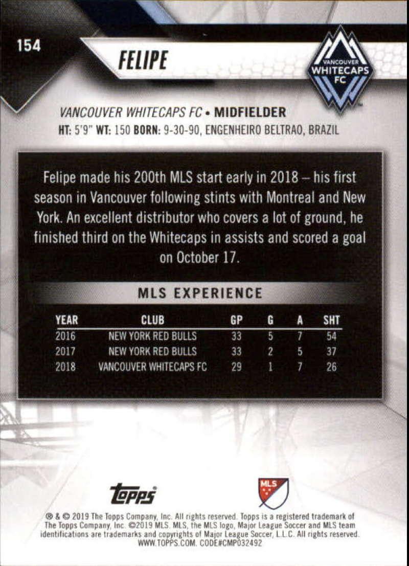 2019-Topps-MLS-Soccer-Base-Singles-1-200-Pick-Your-Cards thumbnail 295