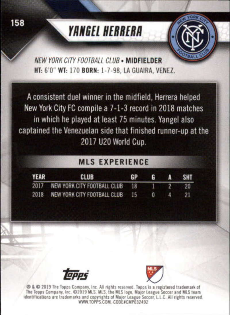 2019-Topps-MLS-Soccer-Base-Singles-1-200-Pick-Your-Cards thumbnail 297