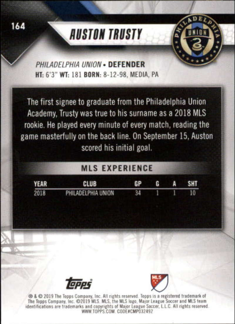 2019-Topps-MLS-Soccer-Base-Singles-1-200-Pick-Your-Cards thumbnail 307