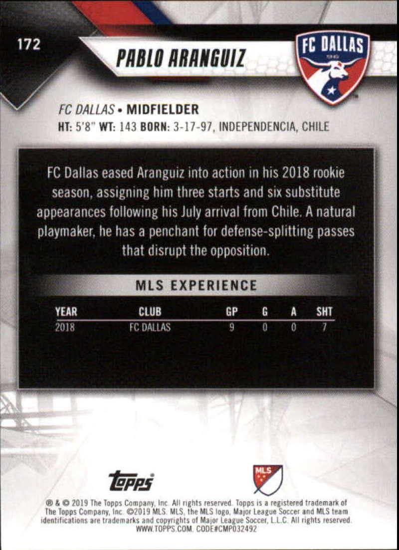 2019-Topps-MLS-Soccer-Base-Singles-1-200-Pick-Your-Cards thumbnail 327