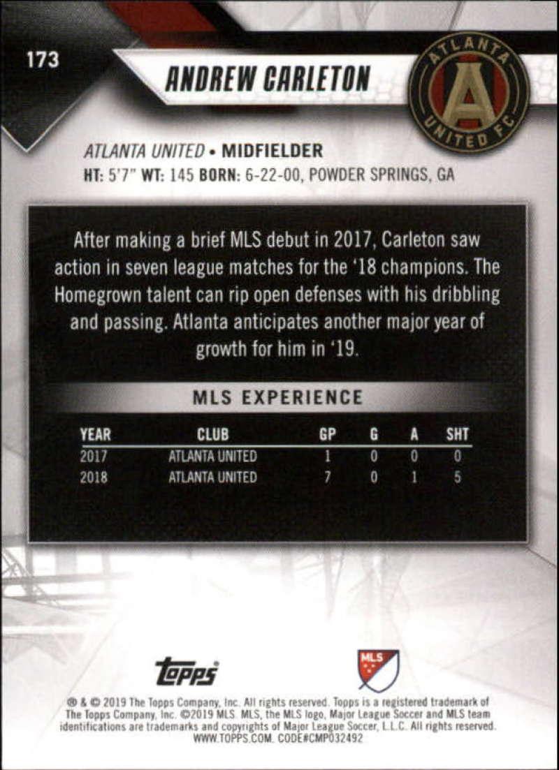 2019-Topps-MLS-Soccer-Base-Singles-1-200-Pick-Your-Cards thumbnail 329