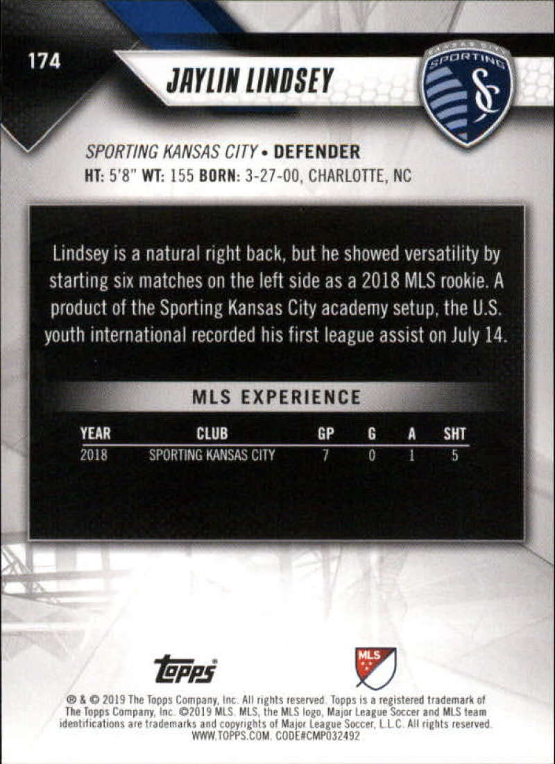 2019-Topps-MLS-Soccer-Base-Singles-1-200-Pick-Your-Cards thumbnail 327