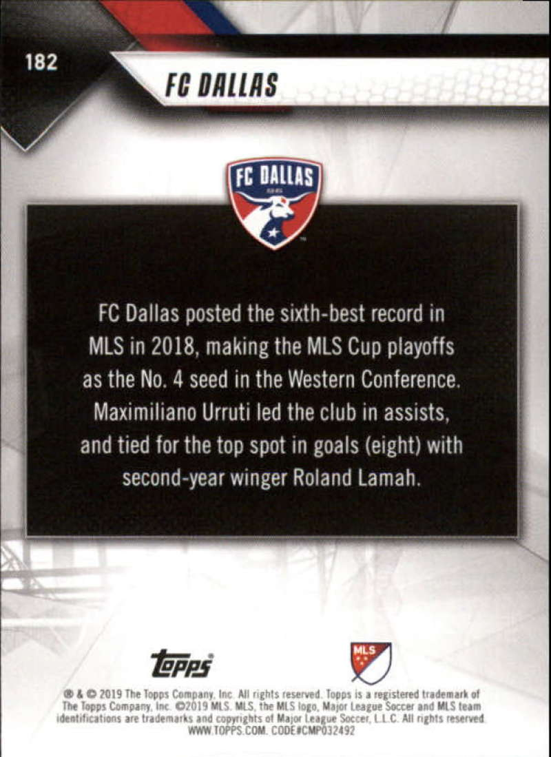 2019-Topps-MLS-Soccer-Base-Singles-1-200-Pick-Your-Cards thumbnail 343
