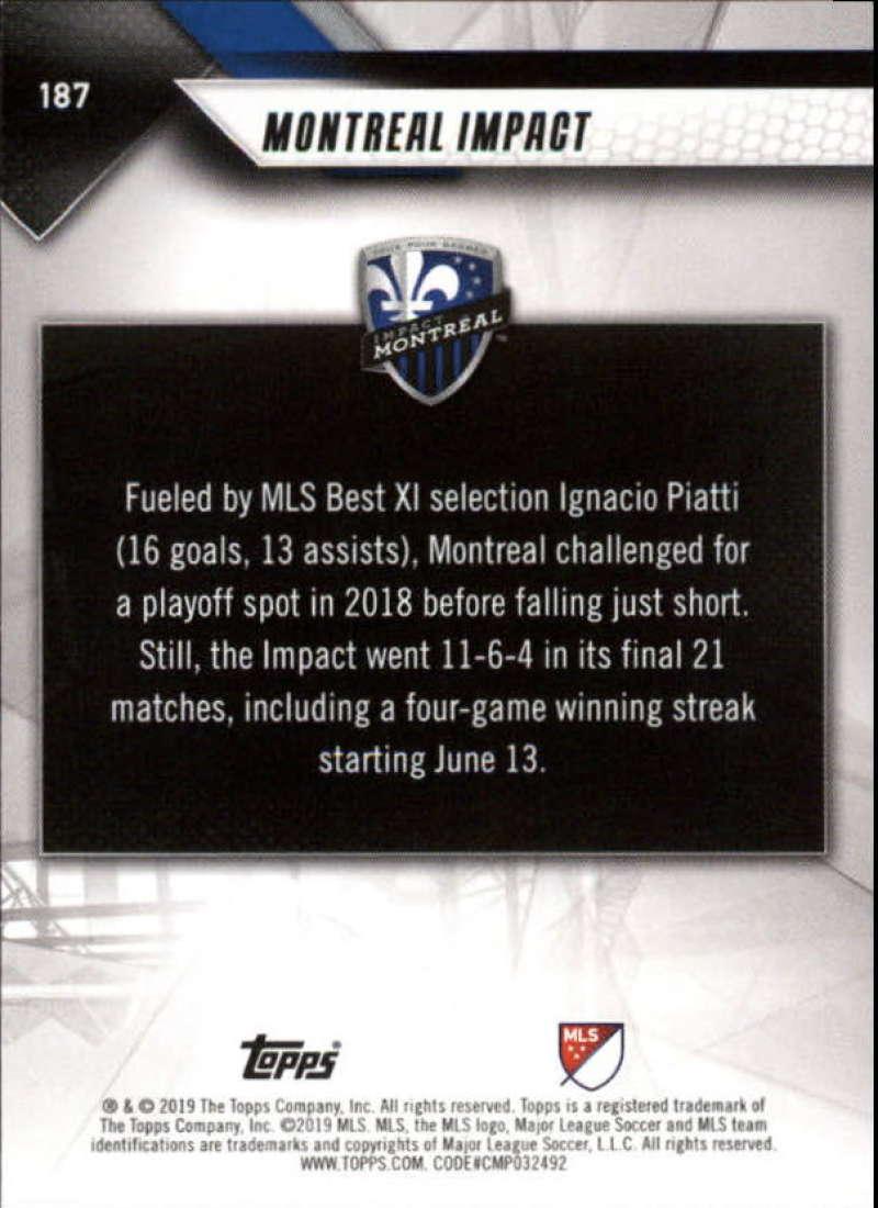 2019-Topps-MLS-Soccer-Base-Singles-1-200-Pick-Your-Cards thumbnail 357