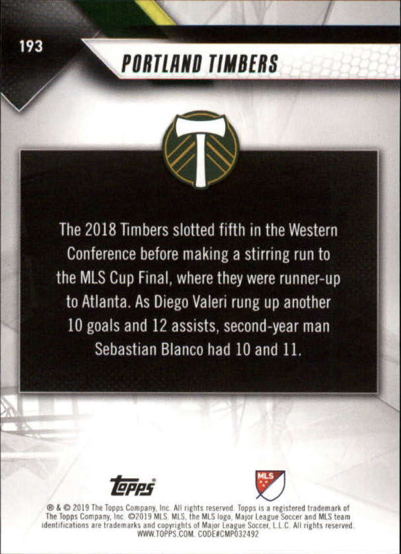 2019-Topps-MLS-Soccer-Base-Singles-1-200-Pick-Your-Cards thumbnail 365