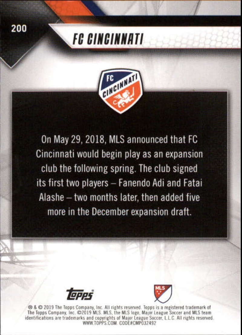 2019-Topps-MLS-Soccer-Base-Singles-1-200-Pick-Your-Cards thumbnail 379