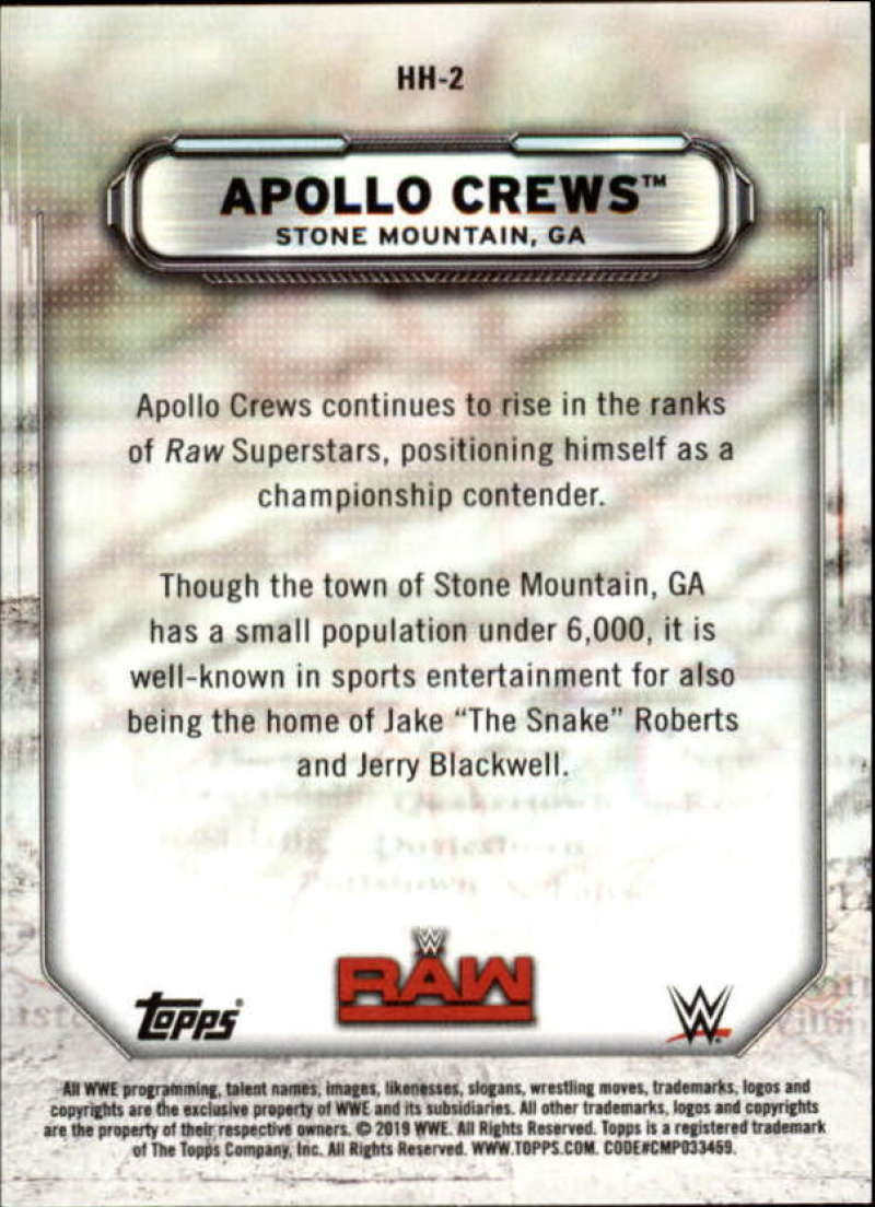 2019-Topps-WWE-Raw-Wrestling-Insert-Singles-Pick-Your-Cards thumbnail 5