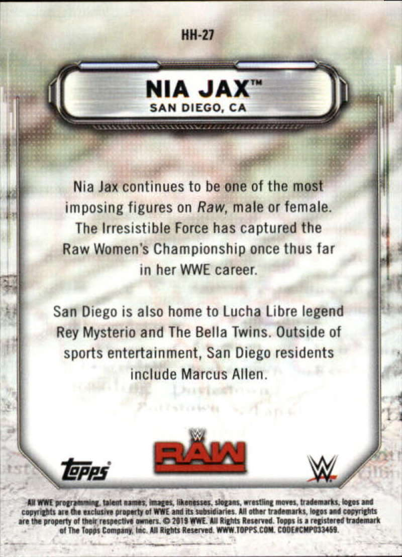 2019-Topps-WWE-Raw-Wrestling-Insert-Singles-Pick-Your-Cards thumbnail 55