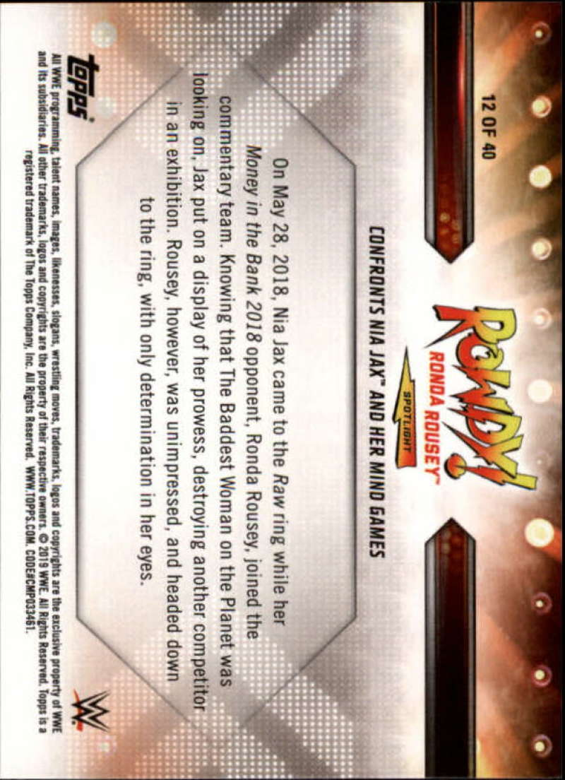 2019-Topps-WWE-Raw-Wrestling-Insert-Singles-Pick-Your-Cards thumbnail 139
