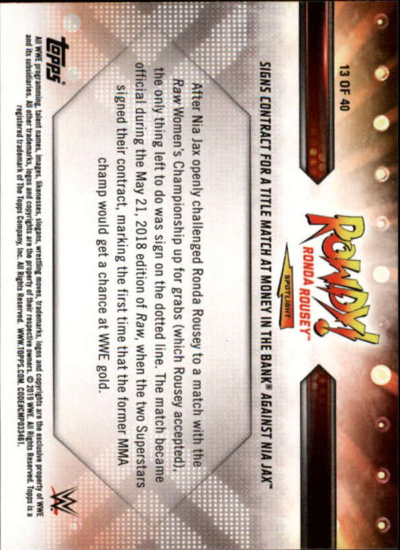 2019-Topps-WWE-Raw-Wrestling-Insert-Singles-Pick-Your-Cards thumbnail 141