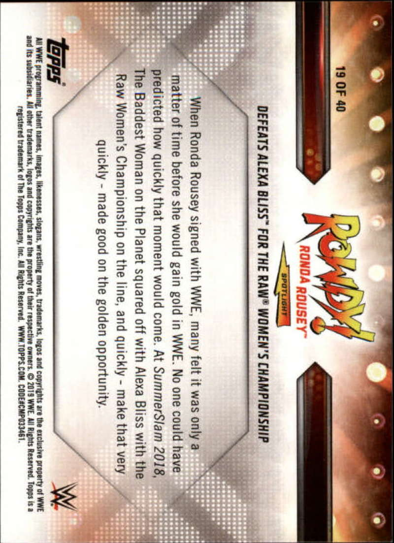 2019-Topps-WWE-Raw-Wrestling-Insert-Singles-Pick-Your-Cards thumbnail 153