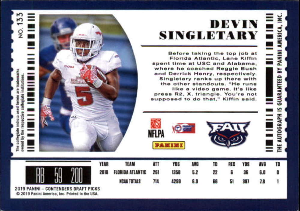 2019-Panini-Contenders-Draft-Football-Rookie-Autograph-Singles-Pick-Your-Cards thumbnail 5