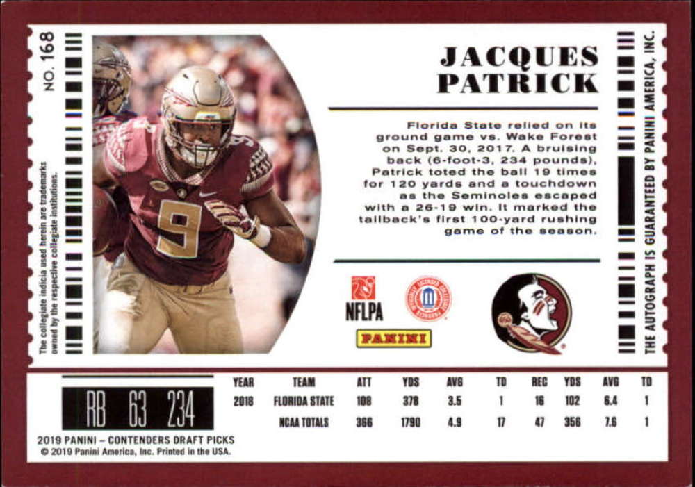 2019-Panini-Contenders-Draft-Football-Rookie-Autograph-Singles-Pick-Your-Cards thumbnail 11