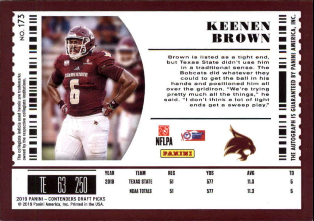 2019-Panini-Contenders-Draft-Football-Rookie-Autograph-Singles-Pick-Your-Cards thumbnail 15