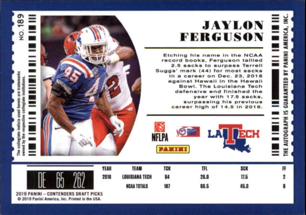2019-Panini-Contenders-Draft-Football-Rookie-Autograph-Singles-Pick-Your-Cards thumbnail 21