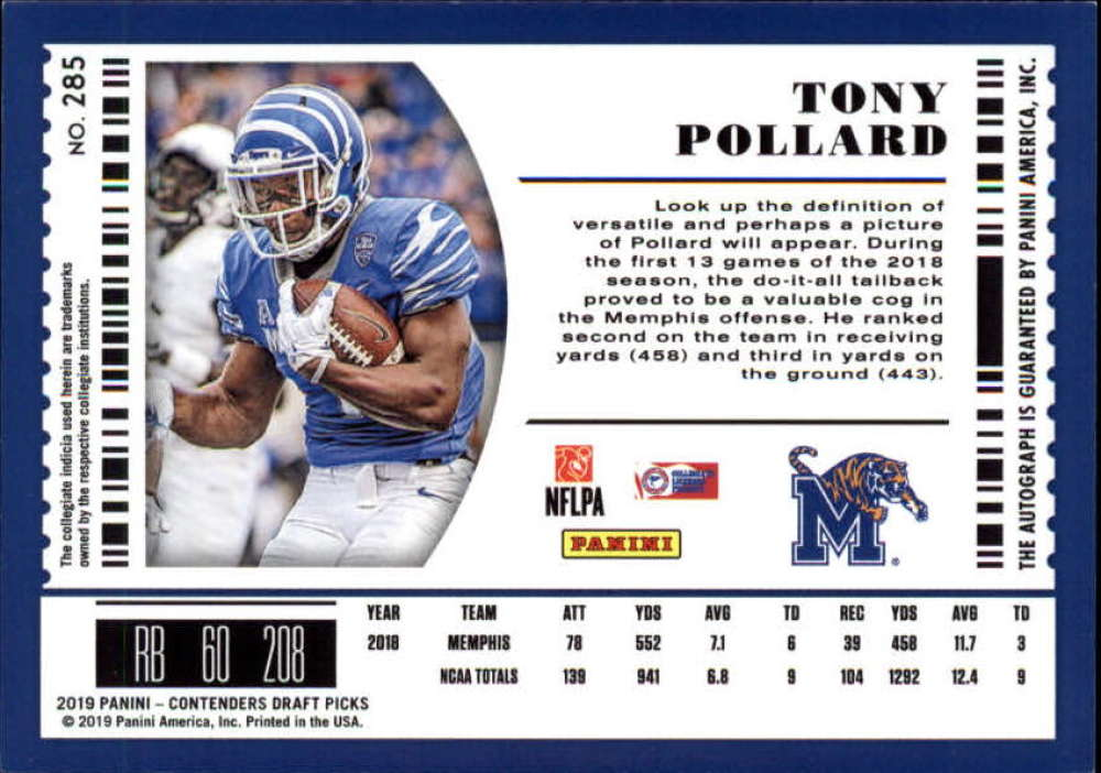 2019-Panini-Contenders-Draft-Football-Rookie-Autograph-Singles-Pick-Your-Cards thumbnail 99