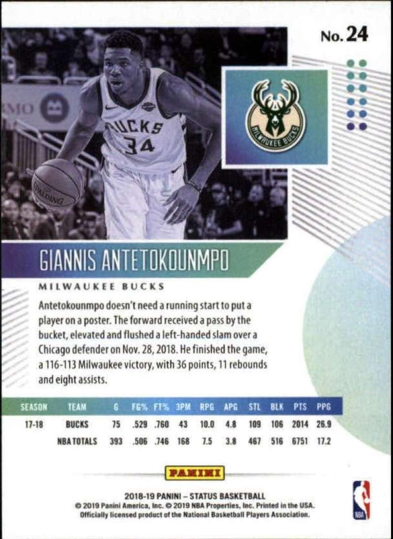 2018-19-Panini-Status-NBA-Basketball-Green-Parallel-Singles-Pick-Your-Cards thumbnail 31