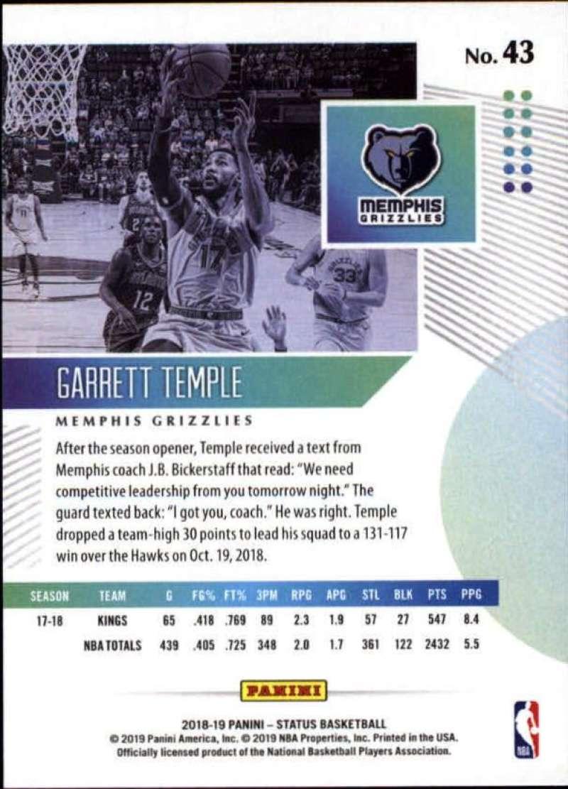 2018-19-Panini-Status-NBA-Basketball-Green-Parallel-Singles-Pick-Your-Cards thumbnail 45