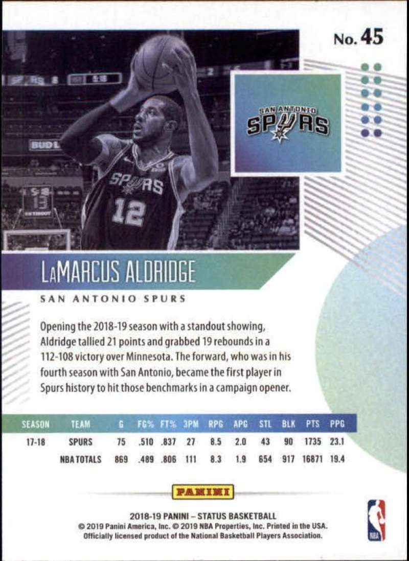 2018-19-Panini-Status-NBA-Basketball-Green-Parallel-Singles-Pick-Your-Cards thumbnail 47