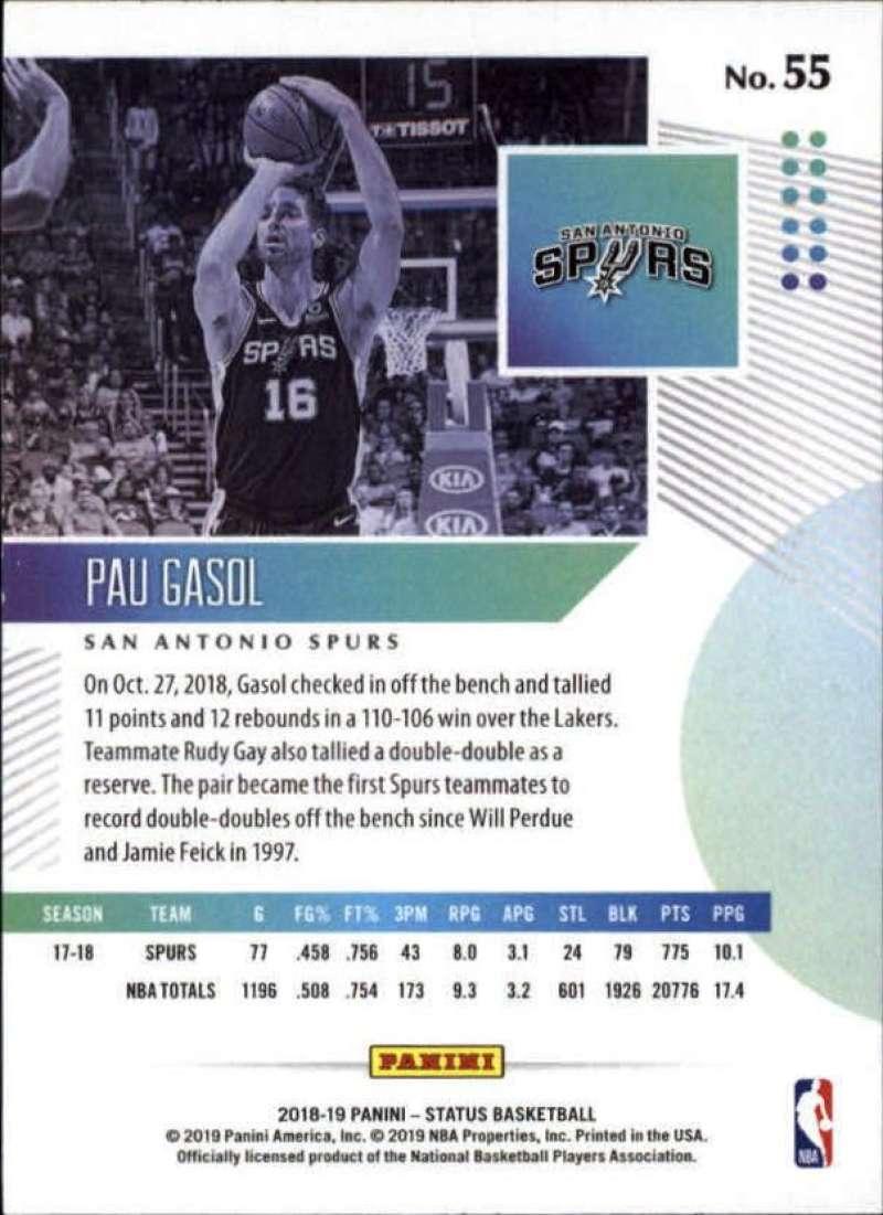 2018-19-Panini-Status-NBA-Basketball-Green-Parallel-Singles-Pick-Your-Cards thumbnail 61