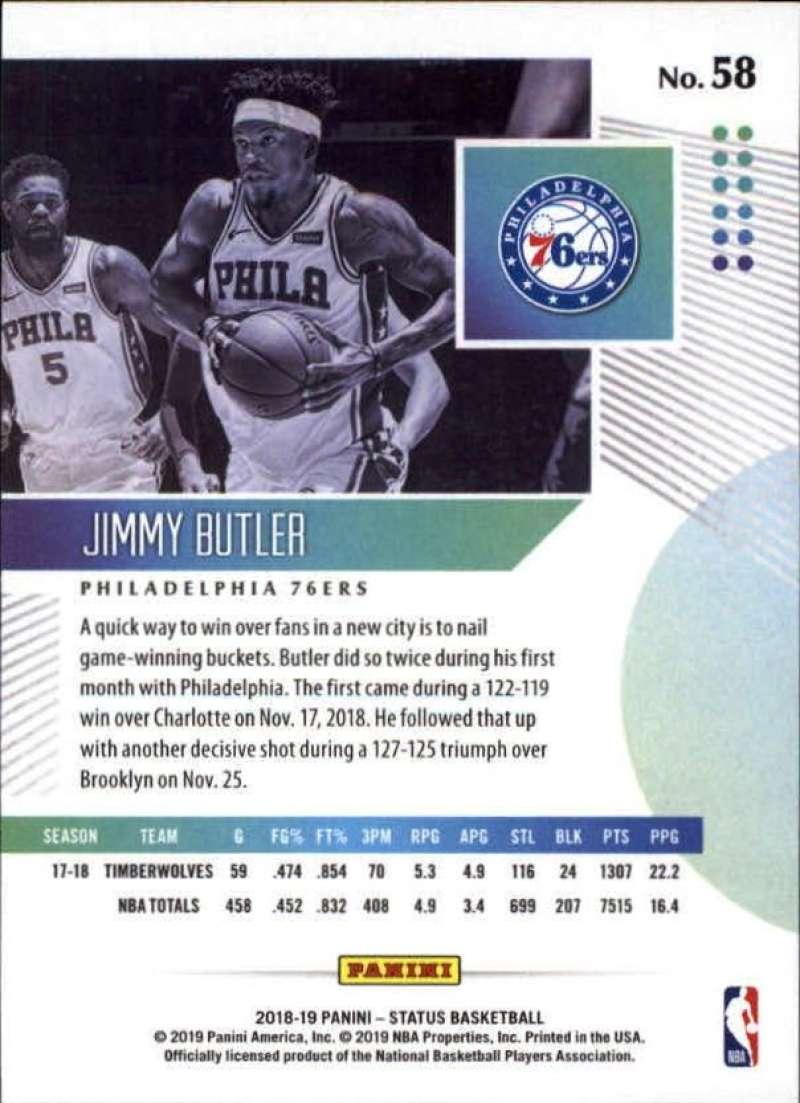 2018-19-Panini-Status-NBA-Basketball-Green-Parallel-Singles-Pick-Your-Cards thumbnail 65