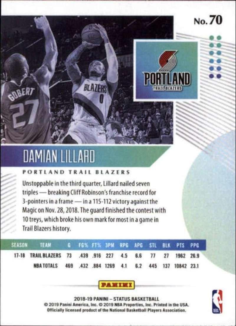 2018-19-Panini-Status-NBA-Basketball-Green-Parallel-Singles-Pick-Your-Cards thumbnail 81