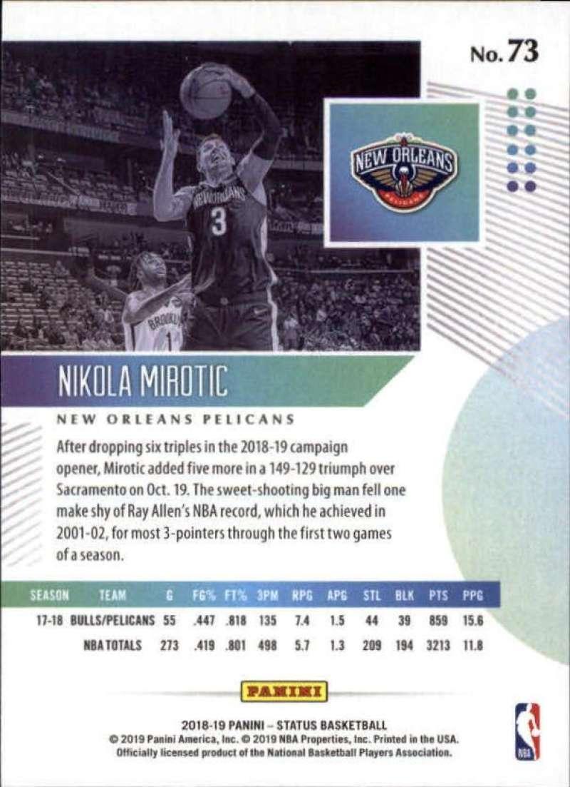 2018-19-Panini-Status-NBA-Basketball-Green-Parallel-Singles-Pick-Your-Cards thumbnail 87