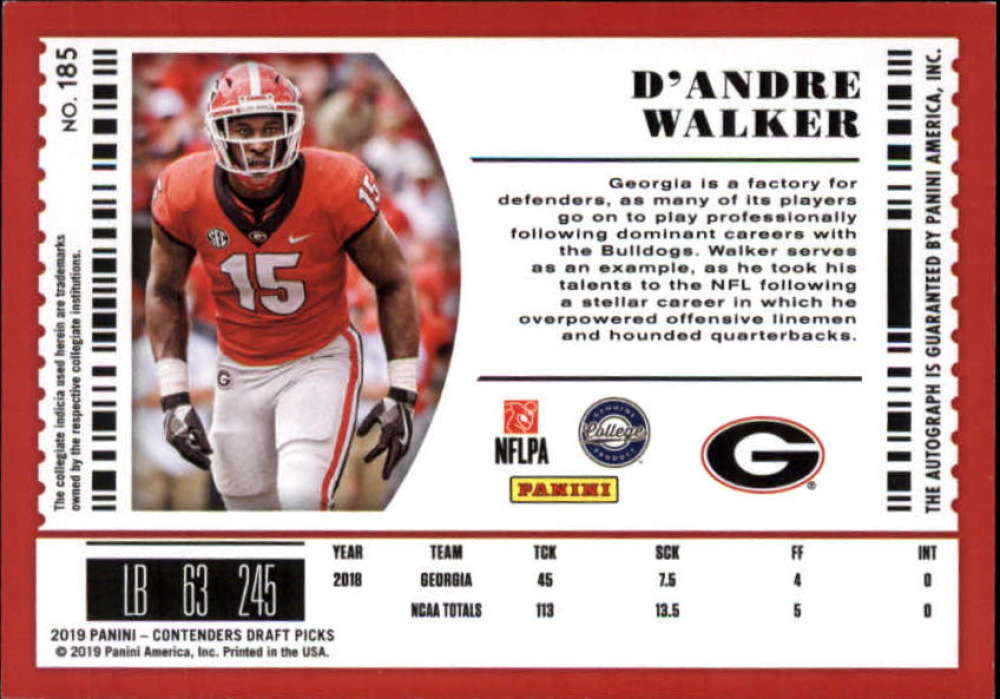 2019-Panini-Contenders-Draft-Football-Rookie-Autograph-Singles-Pick-Your-Cards thumbnail 19