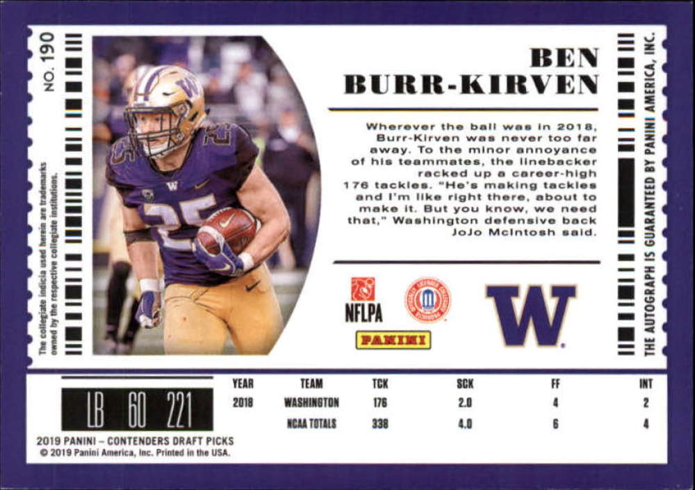 2019-Panini-Contenders-Draft-Football-Rookie-Autograph-Singles-Pick-Your-Cards thumbnail 23