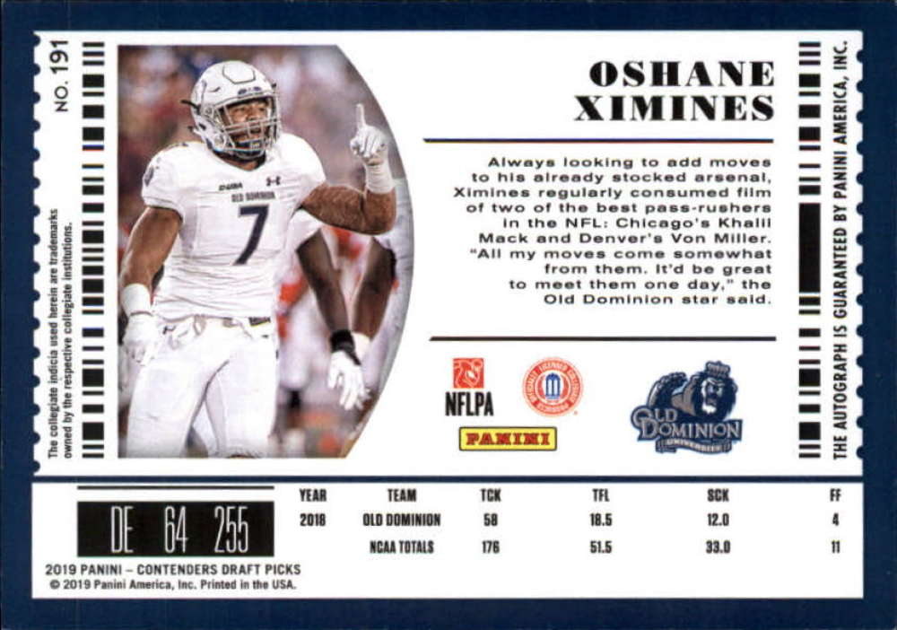 2019-Panini-Contenders-Draft-Football-Rookie-Autograph-Singles-Pick-Your-Cards thumbnail 25