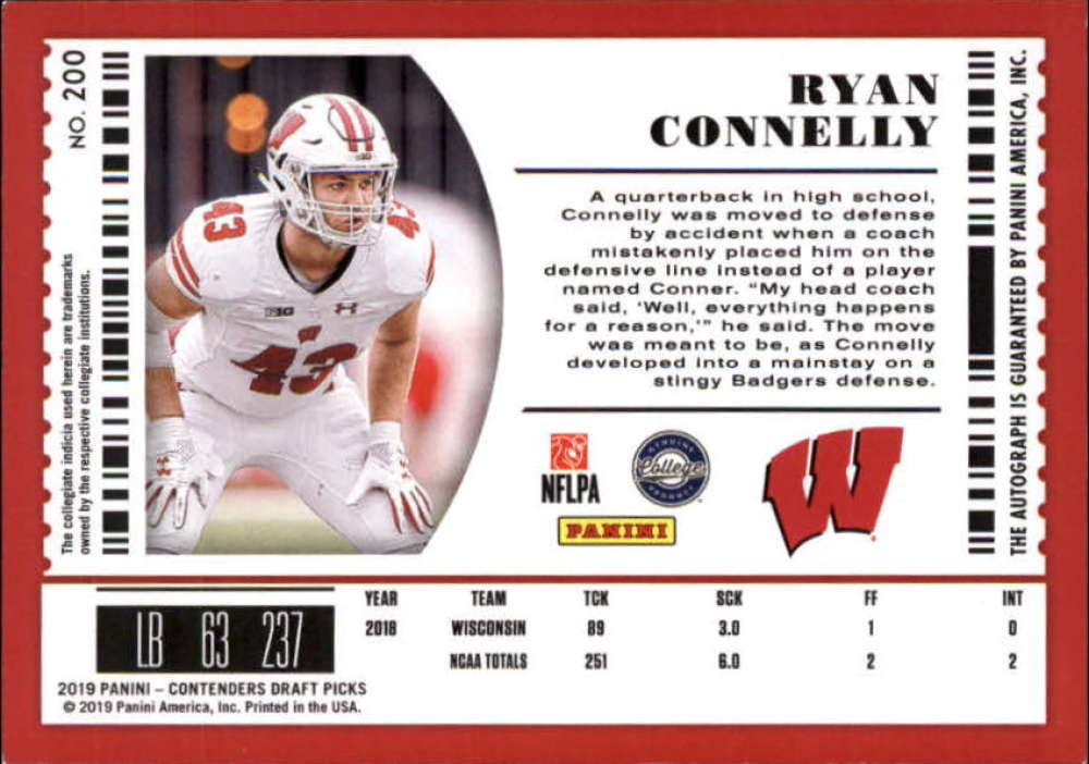 2019-Panini-Contenders-Draft-Football-Rookie-Autograph-Singles-Pick-Your-Cards thumbnail 33